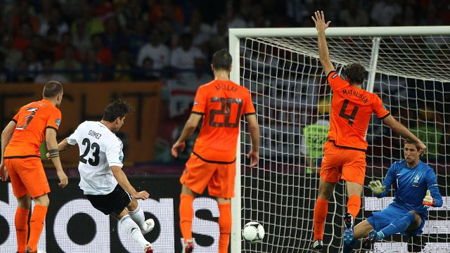 Netherlands vs Germany | UEFA EURO 2012