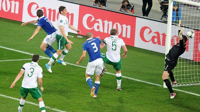 Italy vs Ireland   UEFA EURO 2012