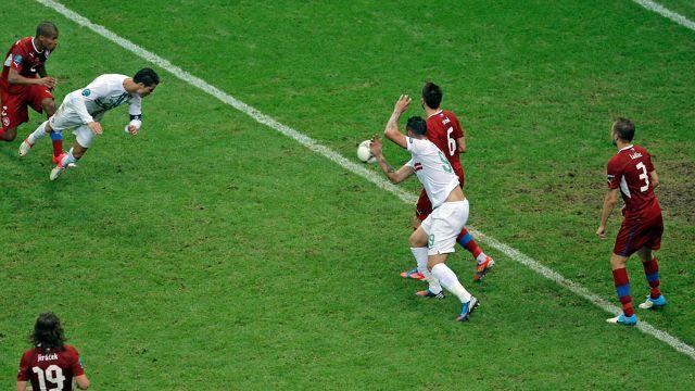Portugal 1-0 Czech EURO 2012