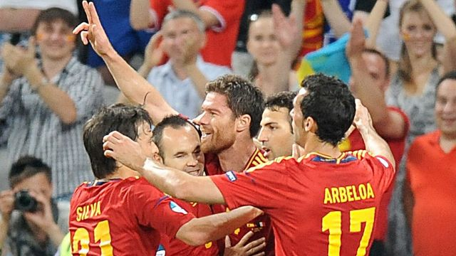 Spain vs France 2-0 UEFA EURO 2012