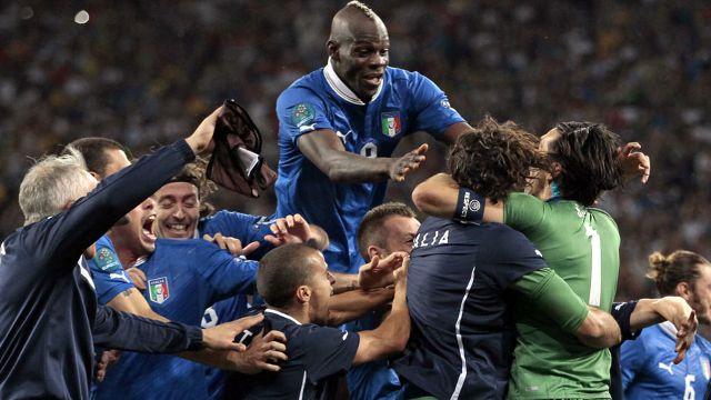 Italy vs England 4-2 UEFA EURO 2012