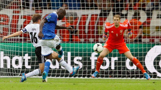 Jerman vs Itali Separuh Akhir EURO 2012