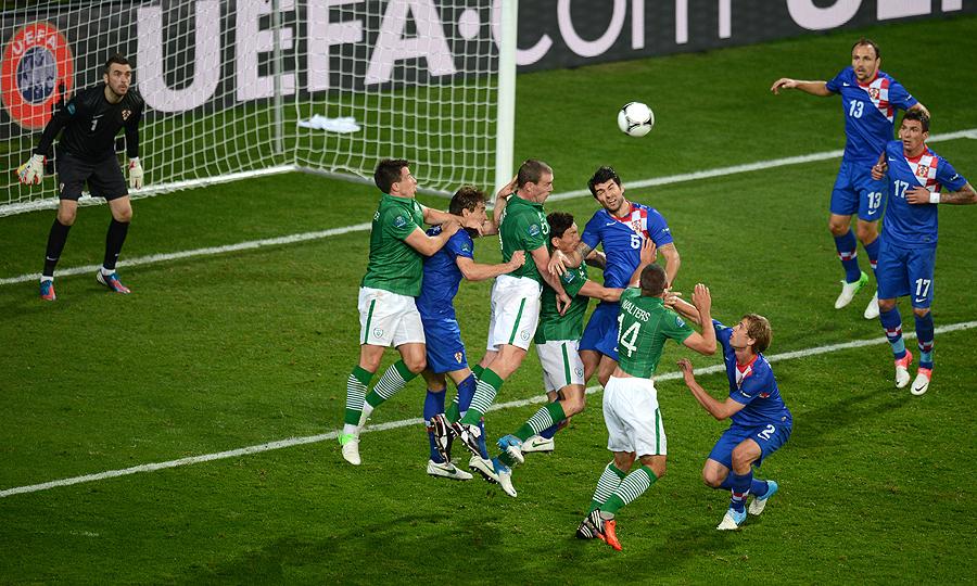 Ireland vs Croatia | UEFA EURO 2012