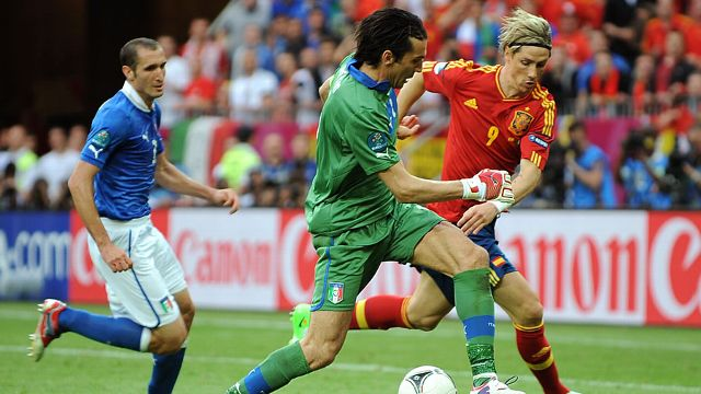 Spain vs Ireland | UEFA EURO 2012