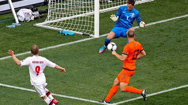 EURO 2012 - Michael Krohn-Dehli Goal - Netherlands vs Denmark