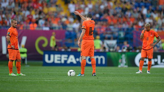 Netherlands 0-1 Denmark UEFA EURO 2012