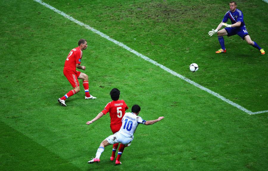 Greece vs Russia   UEFA EURO 2012