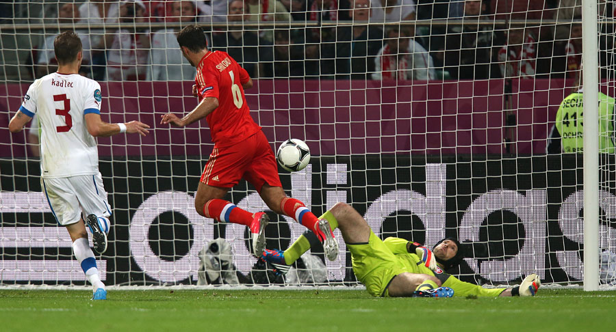 Russia 4-1 Czech Republic UEFA EURO 2012